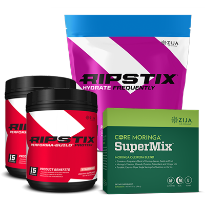 Champions Kit: Performance Build Protein, Hydrate Frequency and Core Horinga Super Mix: Click to Learn More